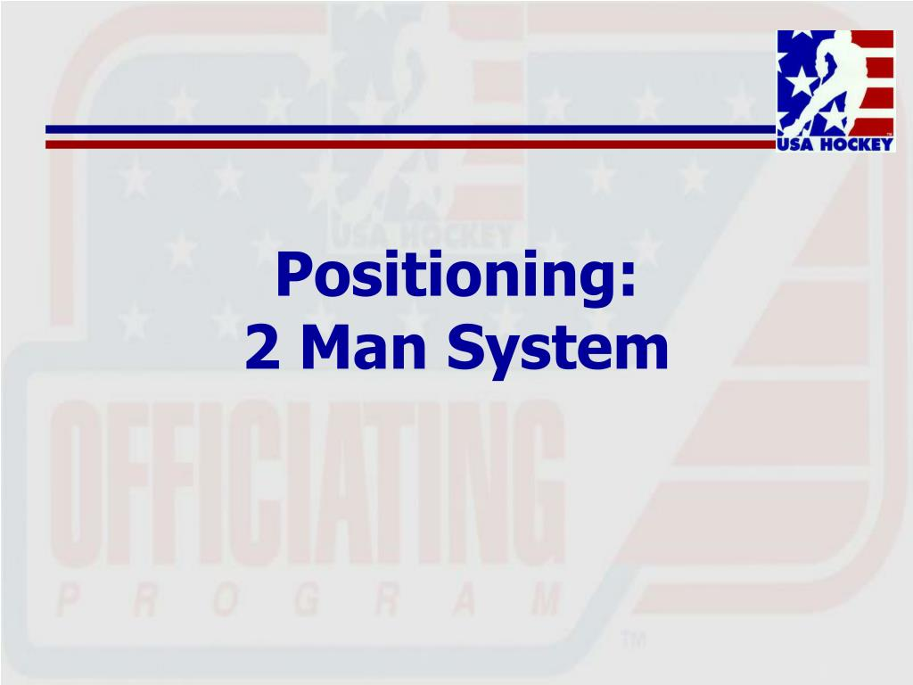 Positioning: