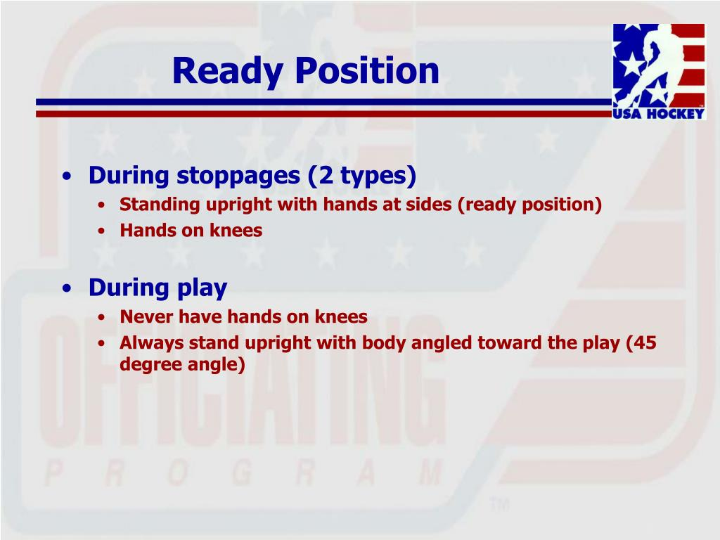 Ready Position