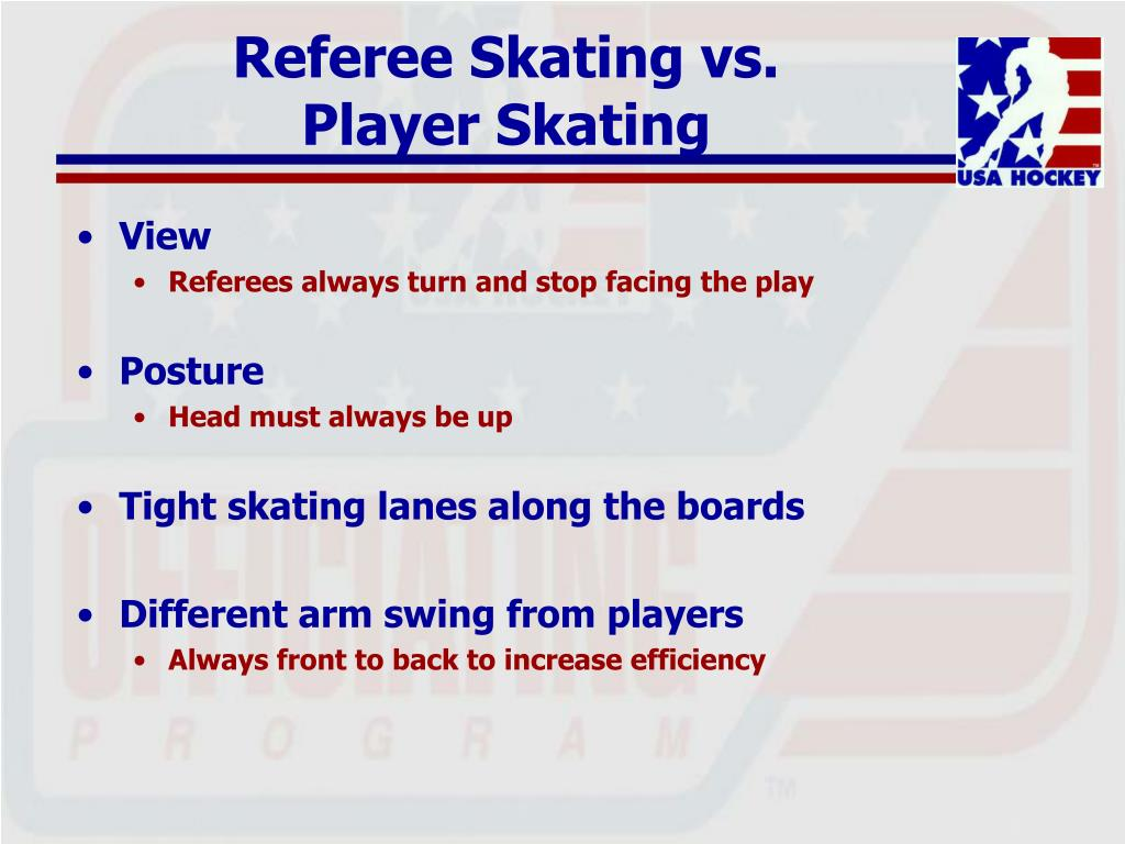 Referee Skating vs.