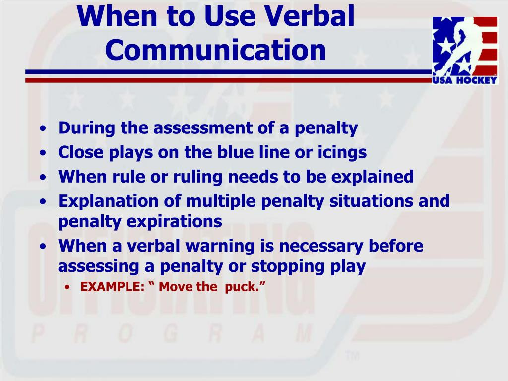 When to Use Verbal Communication