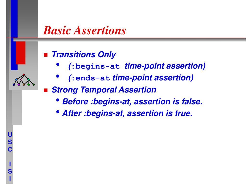 Basic Assertions