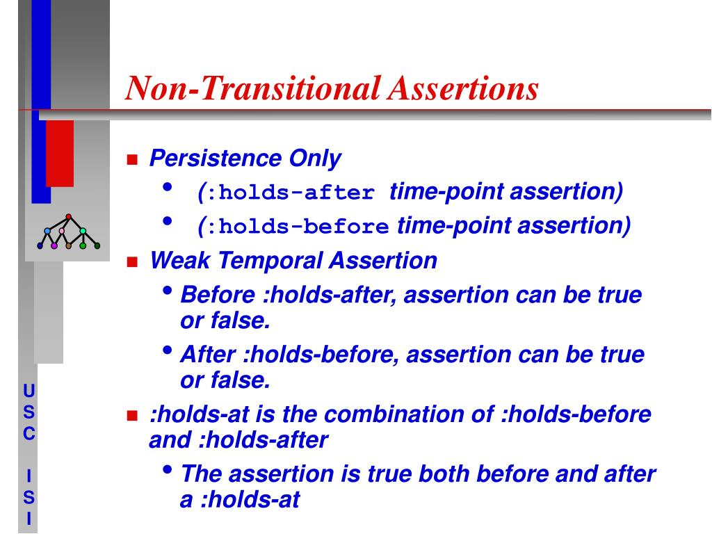 Non-Transitional Assertions