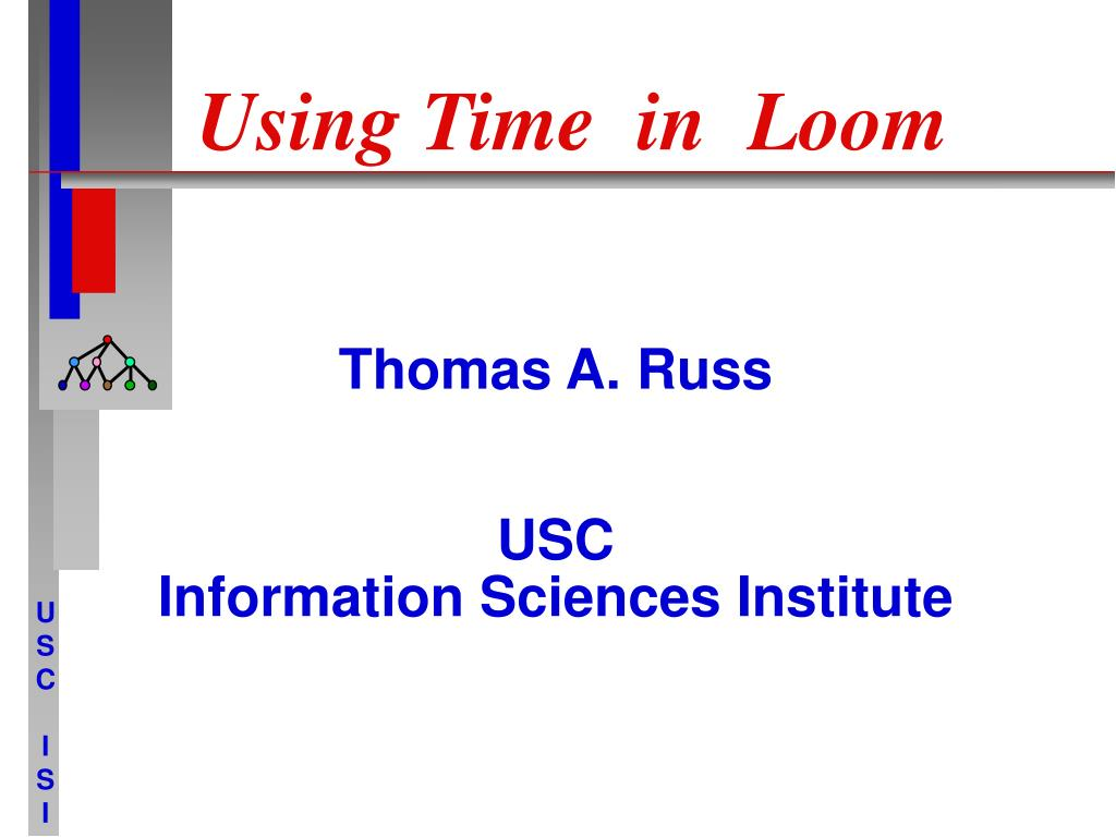 Using Time  in  Loom
