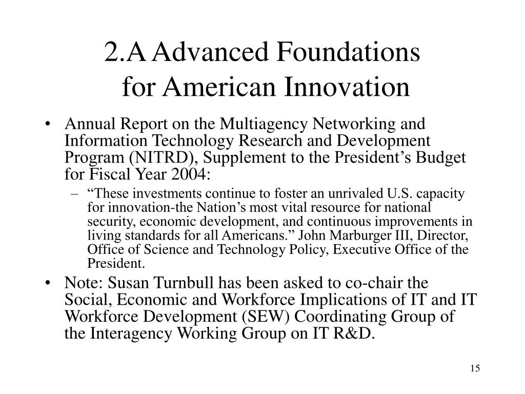 2.A Advanced Foundations
