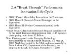 2 a break through performance innovation life cycle