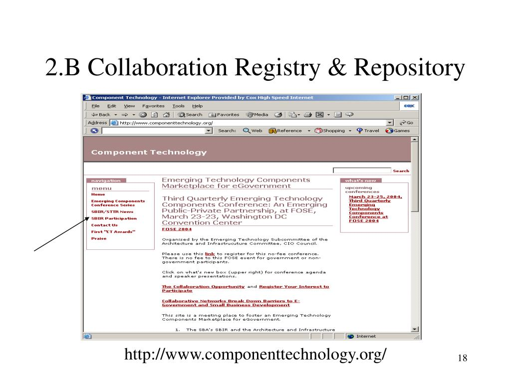 2.B Collaboration Registry & Repository