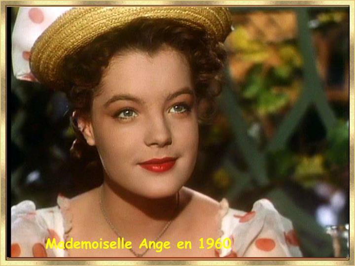 Mademoiselle Ange en 1960