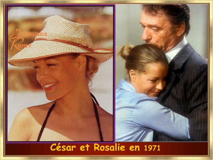 César et Rosalie en