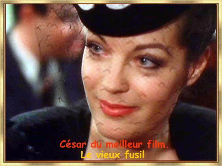 César du meilleur film.