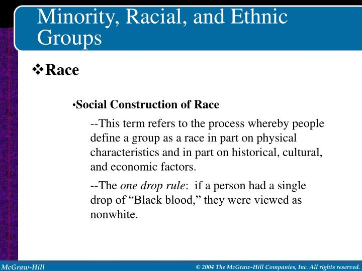 stereotypes and generalizations about minority groups Stereotypes are generalizations about a group of people we may create subtle or overt pressures which will discourage persons of certain minority groups from.