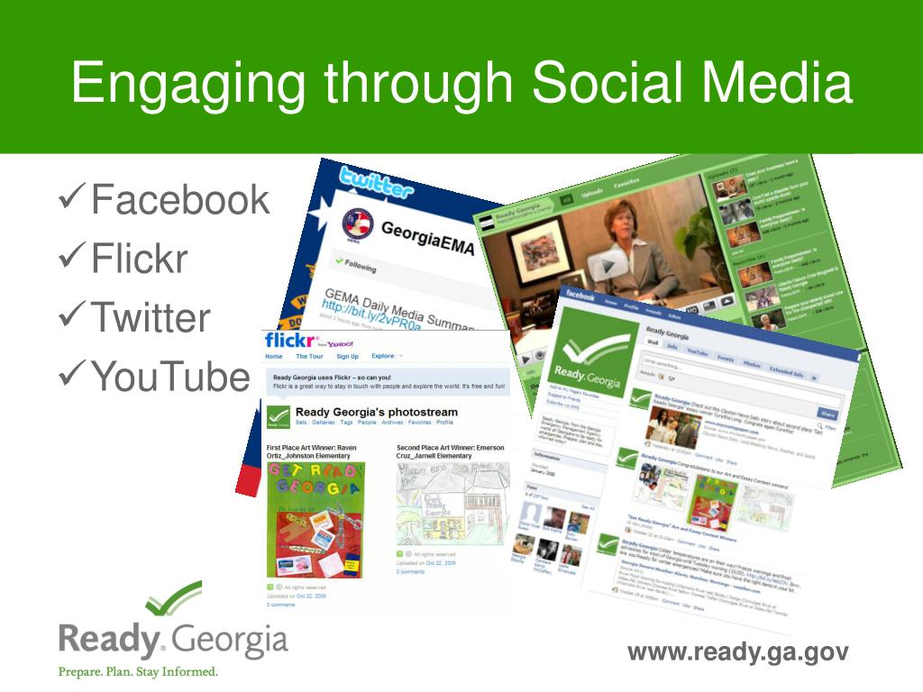 Engaging through Social Media