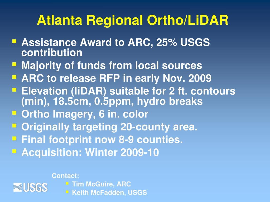 Atlanta Regional Ortho/LiDAR