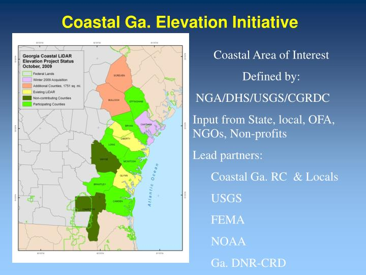 Coastal ga elevation initiative