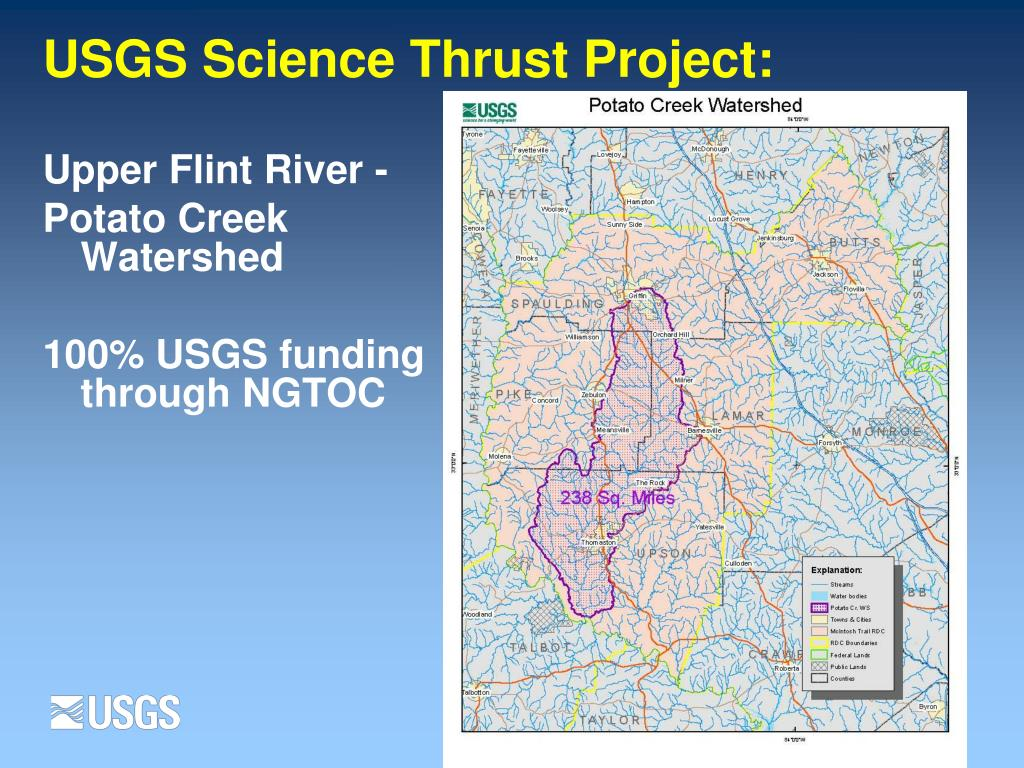 USGS Science Thrust Project: