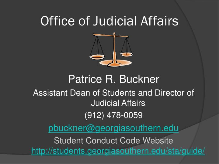 Office of judicial affairs l.jpg