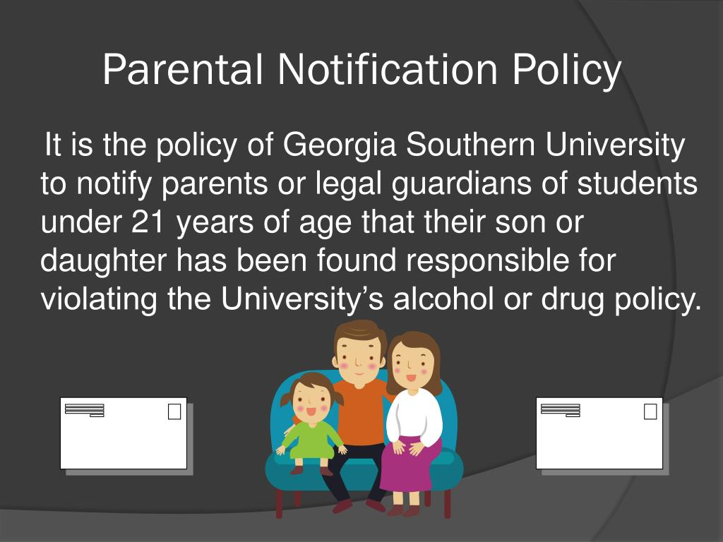 Parental Notification Policy