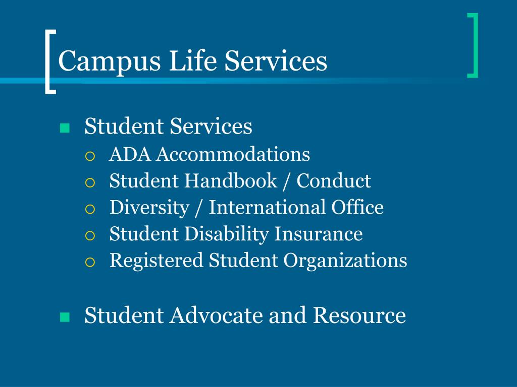 Campus Life Services