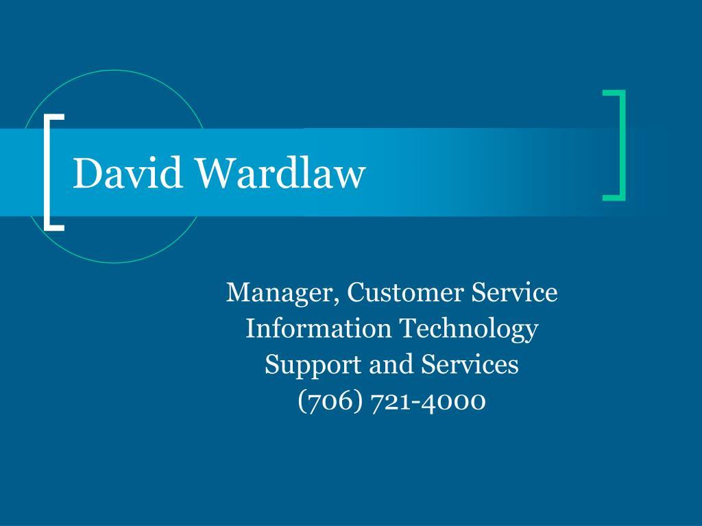 David Wardlaw