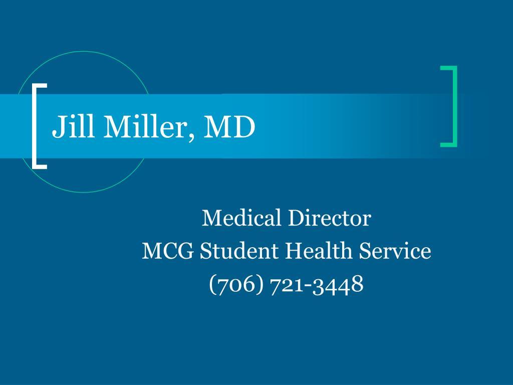 Jill Miller, MD
