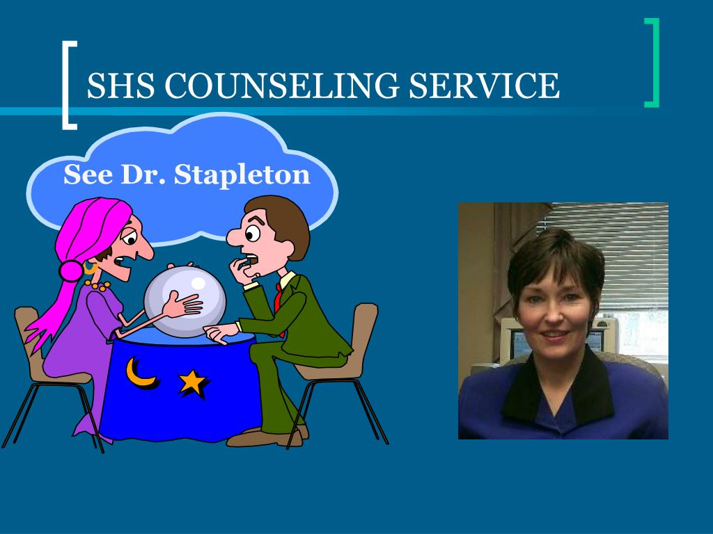 SHS COUNSELING SERVICE