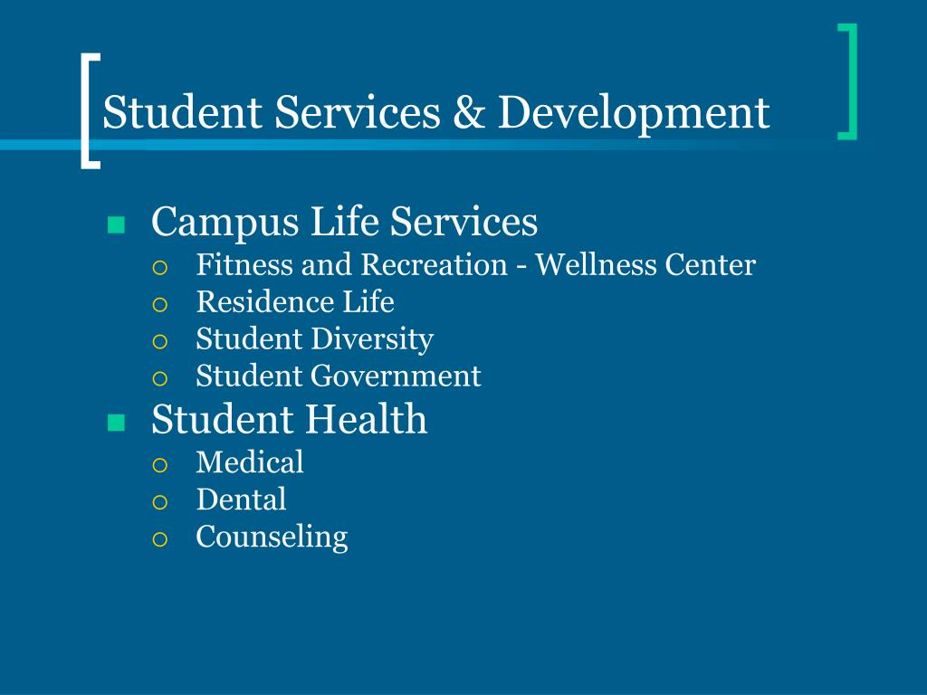 Student Services & Development