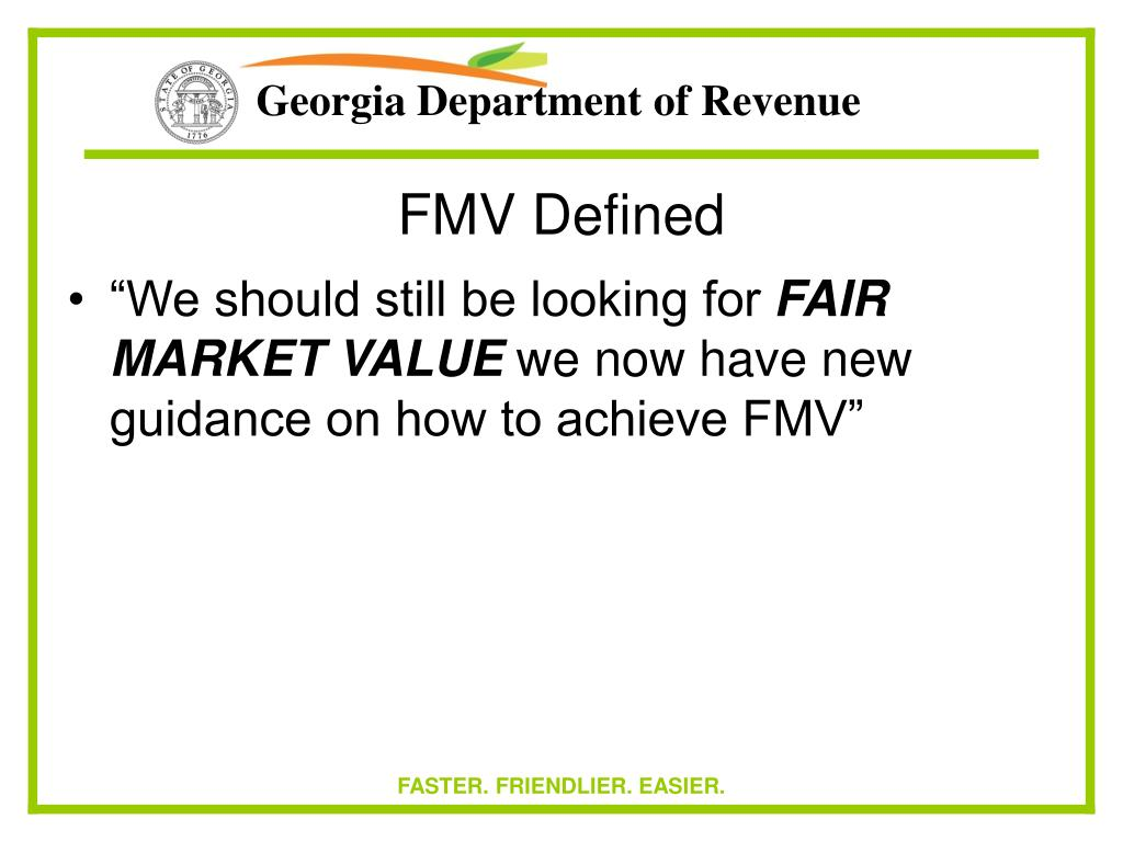 FMV Defined