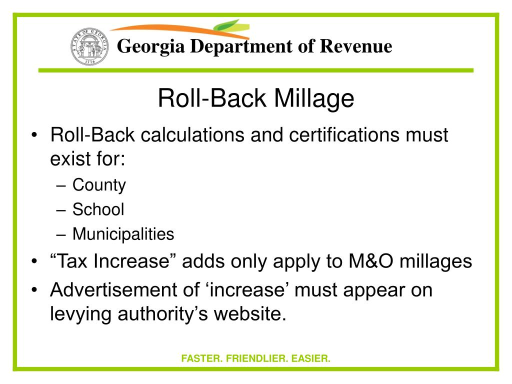 Roll-Back Millage