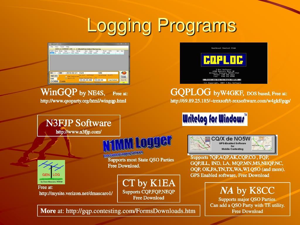 Logging Programs