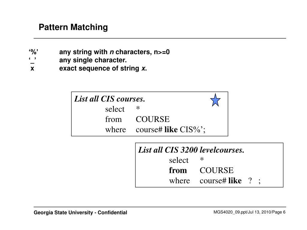 List all CIS courses.