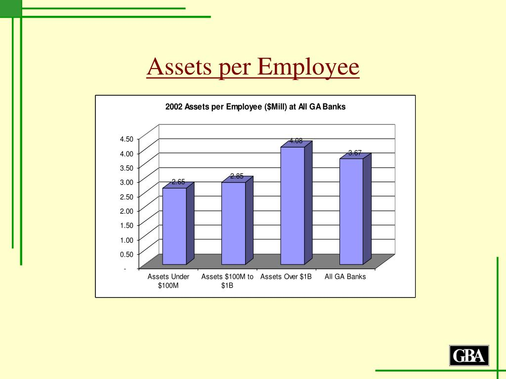 Assets per Employee