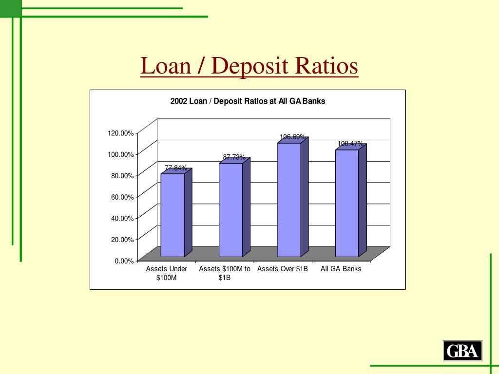 Loan / Deposit Ratios