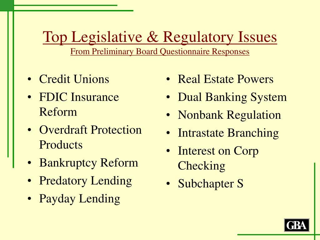 Credit Unions