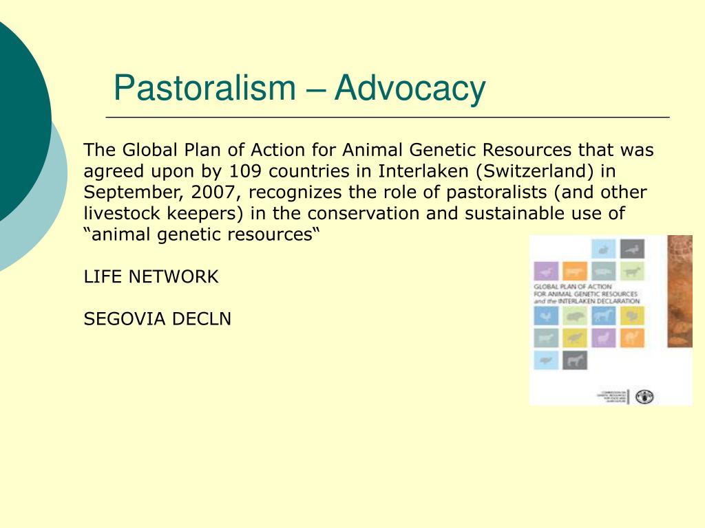 Pastoralism – Advocacy