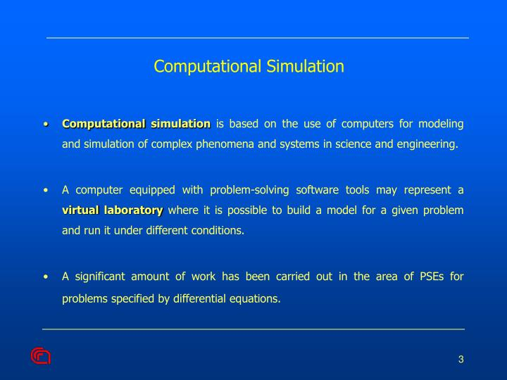 Computational simulation