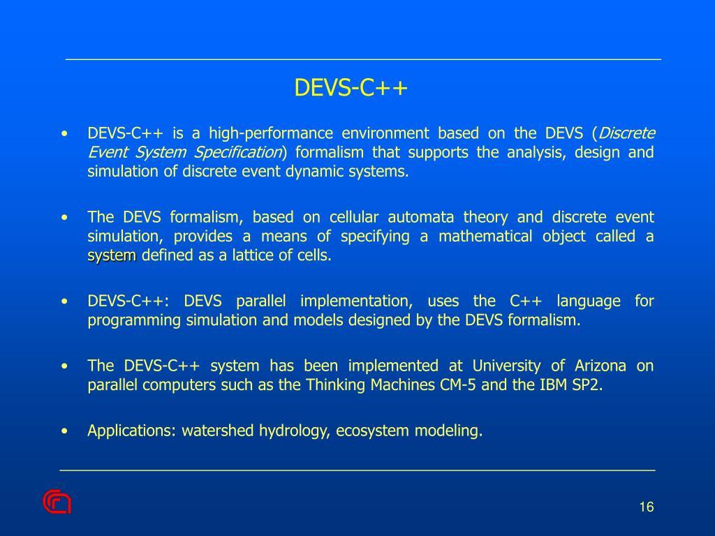 DEVS-C++