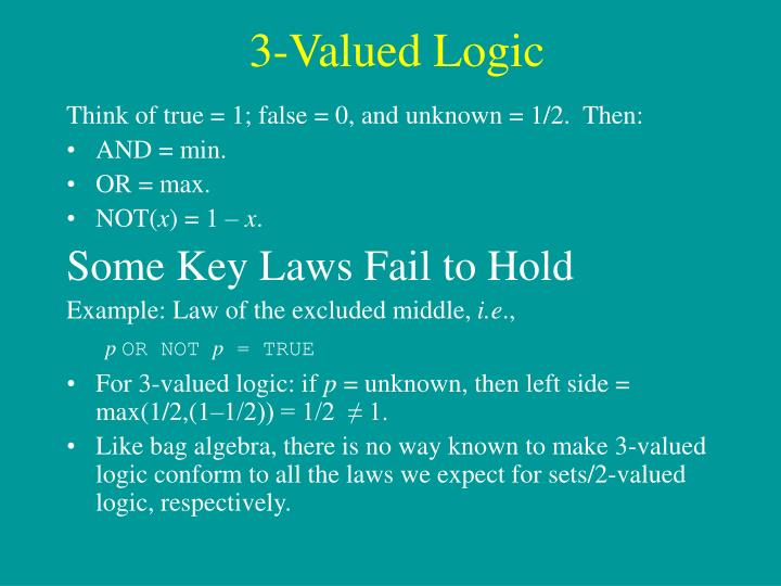 3-Valued Logic