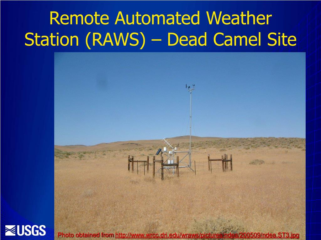 Remote Automated Weather Station (RAWS) – Dead Camel Site