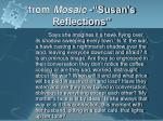 from mosaic susan s reflections3