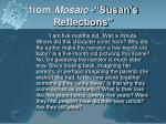 from mosaic susan s reflections5