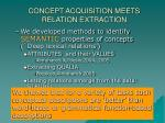 concept acquisition meets relation extraction