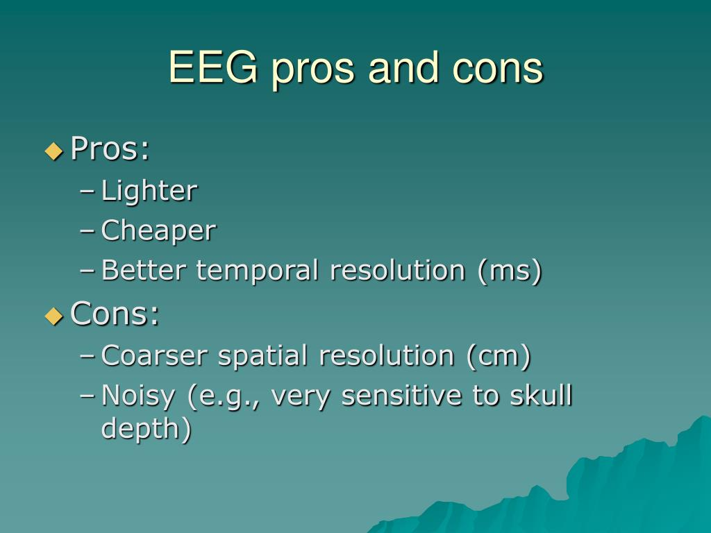 EEG pros and cons