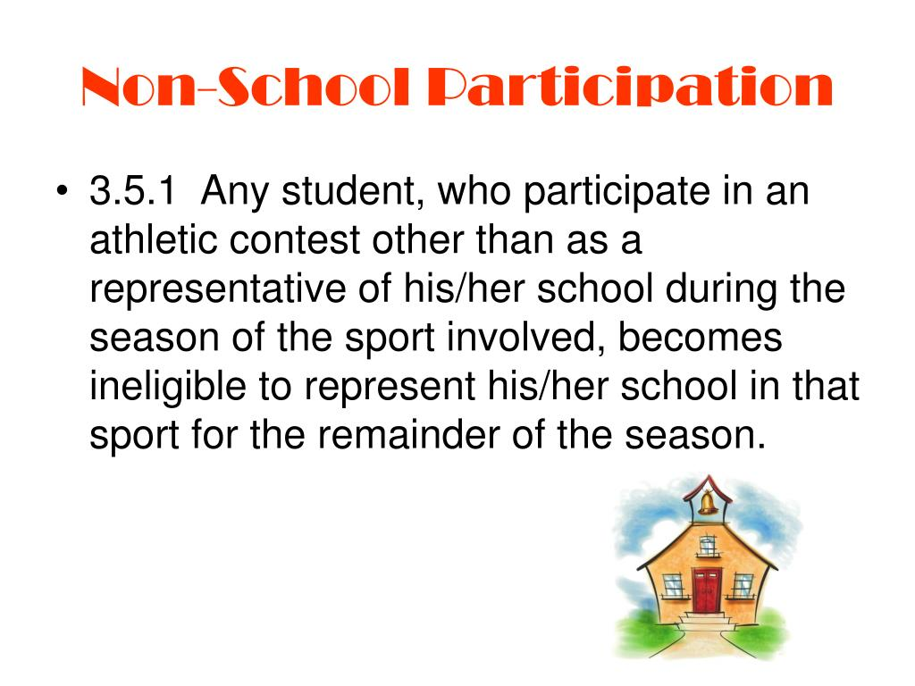 Non-School Participation
