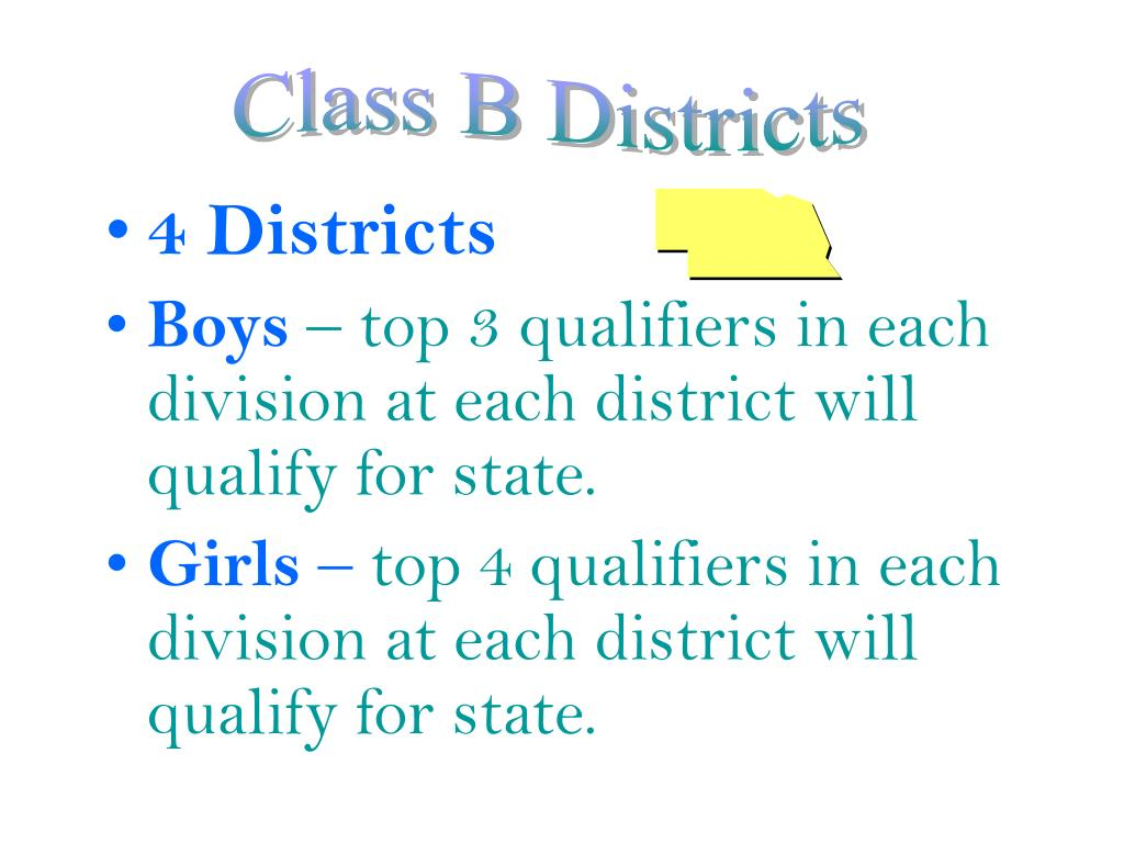 4 Districts