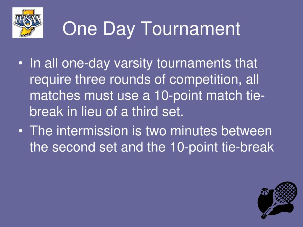 One Day Tournament