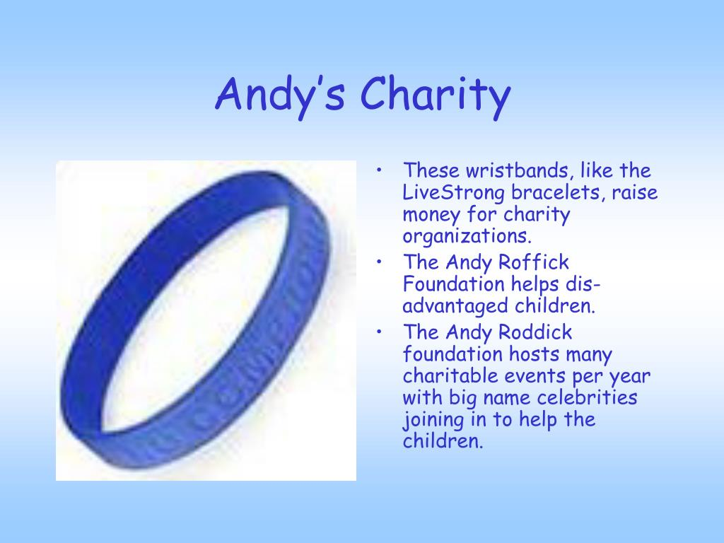 Andy's Charity