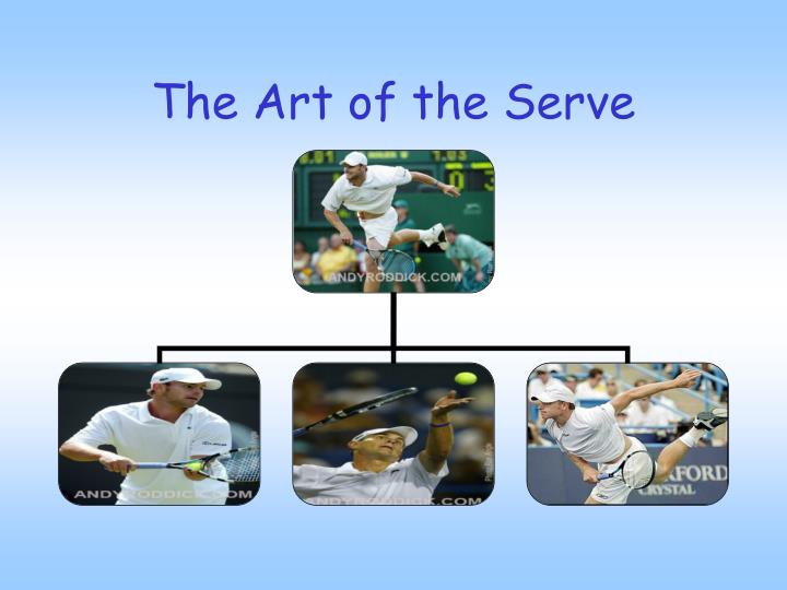 The art of the serve l.jpg