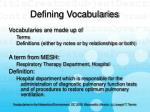 defining vocabularies6