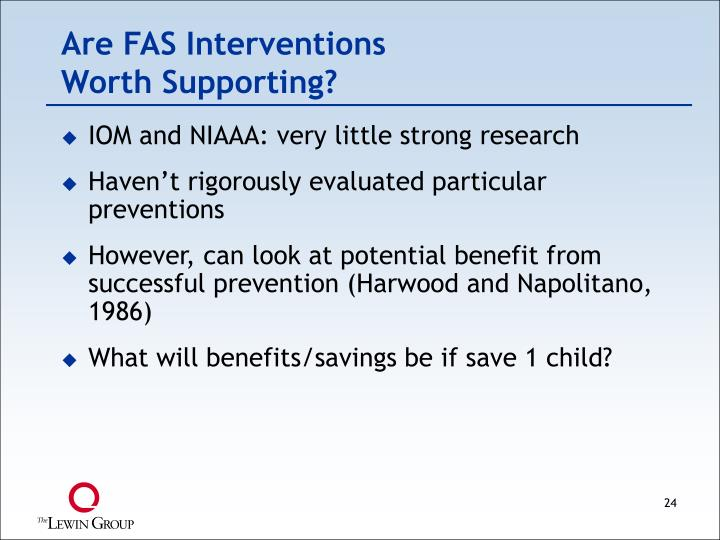 Are FAS Interventions