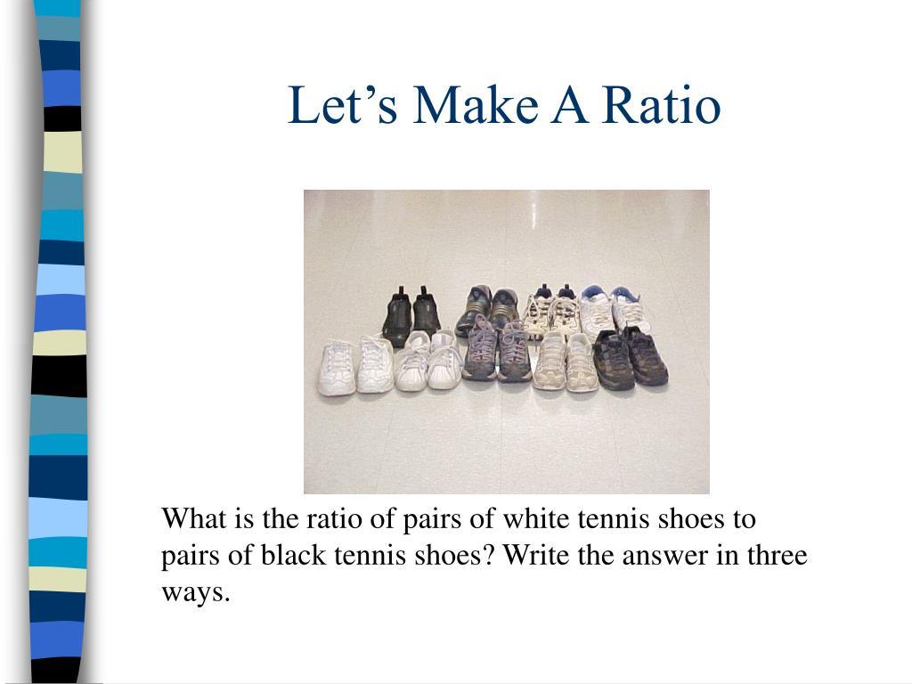 Let's Make A Ratio