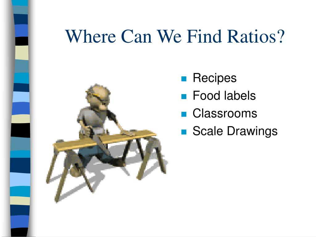 Where Can We Find Ratios?